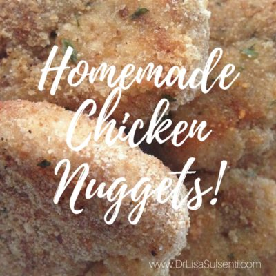 Homemade Chicken Nuggets {Plain, BBQ or Buffalo Styles}