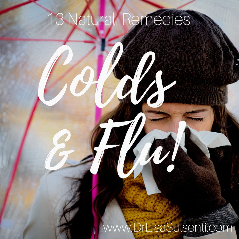 13 Natural Cold & Flu Remedies